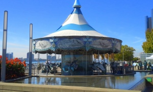Carousel on Detroit River Walk