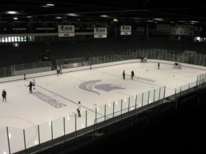 Munn Arena at Michigan State University.