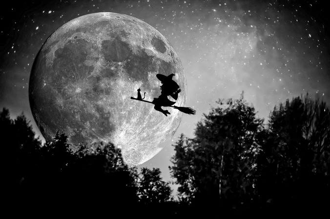 When witches go riding, and black cats are seen, the moon laughs and whispers, 'tis near Halloween. ~Author Unknown